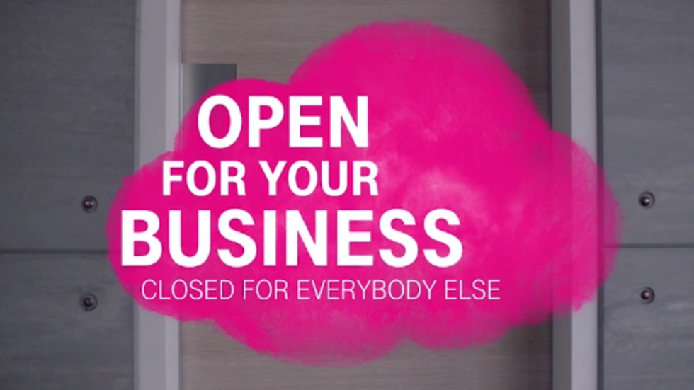 Open for your business, closed for everybody else