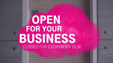 Open Telekom Cloud: Open for your business, closed for everybody else.