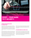 Cyberattack risks have been growing sharply – dCert is your guide to IT security.