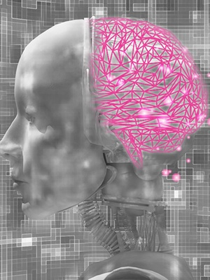 Artificial intelligence functions similar to the human brain: machines also add to their knowledge through practice.