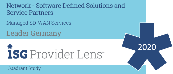 ISG Provider Lens für Managed SD-WAN Services